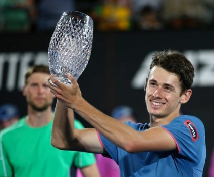 Alex de Minaur Wins First ATP Title at the Sydney International