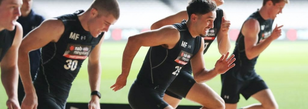 Excitement machine Izak Rankine earns high praise at AFL Draft Combine