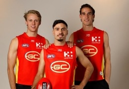 Izak Rankine Drafted with Pick 3 in the AFL National Draft
