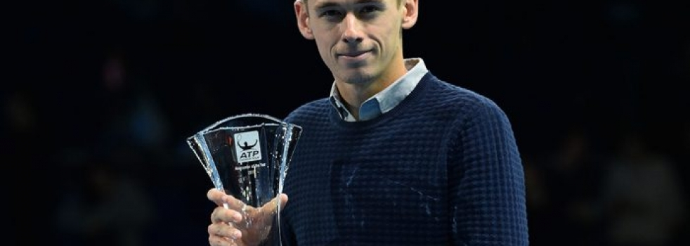 Alex de Minaur Wins ATP Newcomer of the Year Award