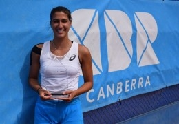 Jaimee Fourlis defeats friend Ellen Perez to win ACT Claycourt International #2