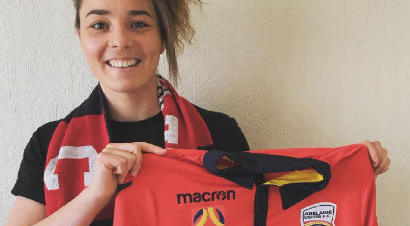 Crows AFLW star Jenna McCormick has rejoined Adelaide United in the W-League