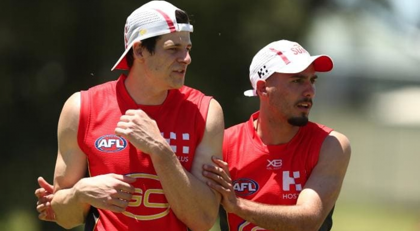 Chris Burgess fairytale rise from amateur football to in the frame for Round 1 debut