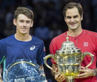 Alex de Minaur reaches career-high ATP ranking after making Basel final